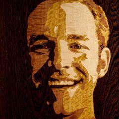 Портреты по дереву Rob Milam