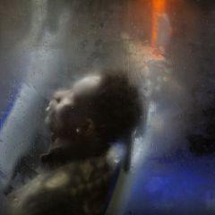 Через стекло вечернего автобуса