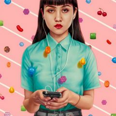 Картины Alex Gross