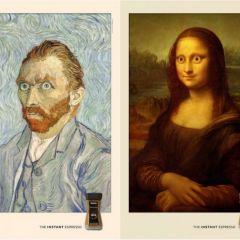 Креативные рекламные принты