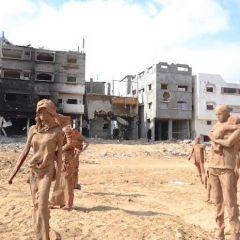 Скульптура в Секторе Газа