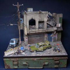 Миниатюрные городские инсталляции