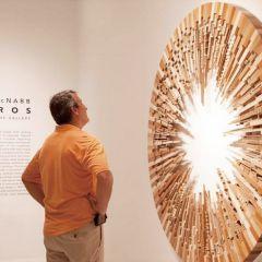 Деревянные инсталляции James McNabb