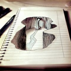 Иллюстрации в тетрадях