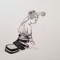 Рисунки Geffen Refaeli