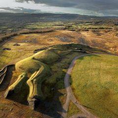 Огромная скульптура лошади в Уэльсе