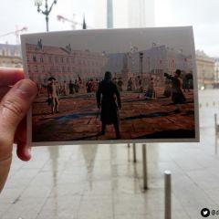Париж сейчас и в игре Assassin's Creed Unity