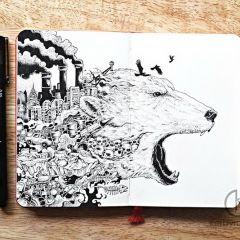 Скетчи и рисунки Kerby Rosanes