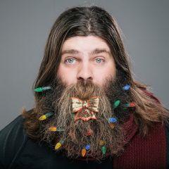 Дизайн бороды к Рождеству