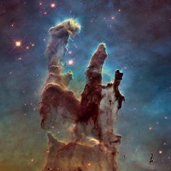 NASA опубликовало новые фотографии «Столпов творения»