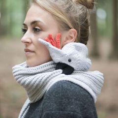 Необычные и теплые шарфы