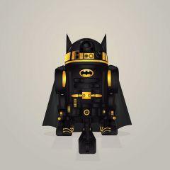 R2-D2 в костюмах других супергероев