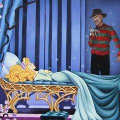 Диснеевские принцессы и известные злодеи кино