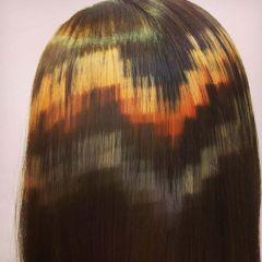 Новый тренд: пиксели в волосах
