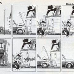Сюрреалистические комиксы Paul Kirchner