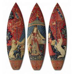 Доска для серфинга в стиле XV века