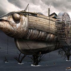 Необычные изображения животных Chris Benn
