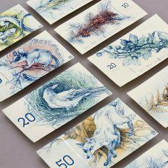 Венгерская студентка предложила интересный дизайн купюр евро