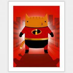 Кинокоты: плакаты, где известные герои заменены котами