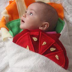 Пеленки-буррито для самых сладких детей