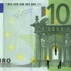 Иллюстрации на купюрах евро