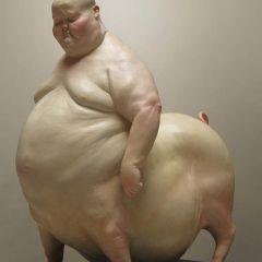 Гротескные скульптуры Liu Xue