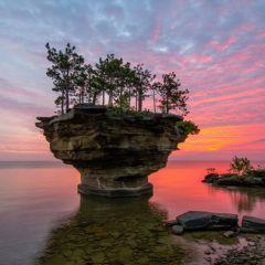 Озеро Гурон: красивейший водоем на границе США и Канады