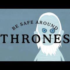 Видеоклип, посвященный первым сезонам Игры престолов