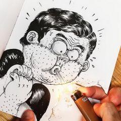 Проект Inkteraction, 2 часть: иллюстрации Alex Solis