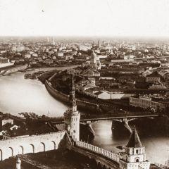 Как выглядела Москва в XIX веке