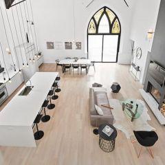 Чикагский дом в здании церкви