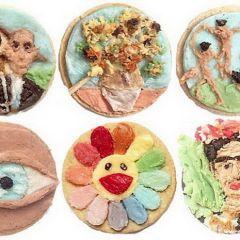 Рисунки Tisha Cherry на печенье Oreo