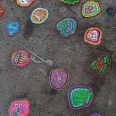 Рисунки на жевательной резинке Ben Wilson