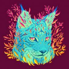 Космические животные в иллюстрациях Jen Bartel