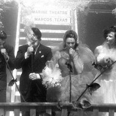 Подводная свадьба 1954 года