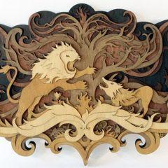 Резьба по дереву Martin Tomsky