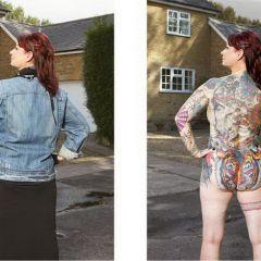 Скрытые татуировки: проект Alan Powdrill
