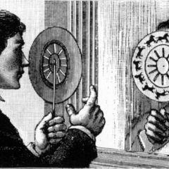 Фенакистископ: анимационные картинки XIX века