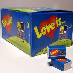 Подборка вкладышей от жвачки Love Is
