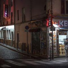 Ночные улицы Парижа в фотографиях Rémy Soubanère