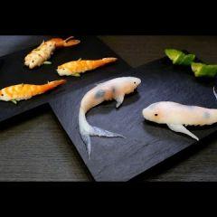 Необычные суши в форме рыбок