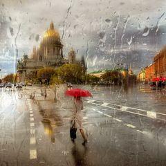 Фотографии в стиле импрессионизма Эдуарда Гордеева