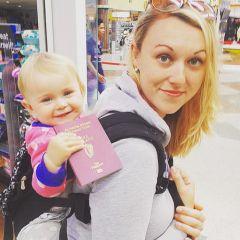 Путешествия с одним рюкзаком и маленькой дочкой