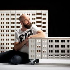 Мебель в виде многоэтажек Lassak Design
