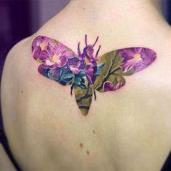 Нежные и яркие татуировки Andrey Lukovnikov