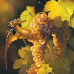 Фруктовые драконы в иллюстрациях Александры Хитровой