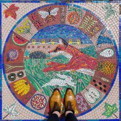 Красота напольных покрытий в Лондоне: проект Sebastian Erras