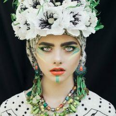 Польская культура в цветочных портретах: фото Ula Kóska