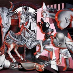 """Иллюстрации на тему """"Герники"""" Пикассо: работы Ron English"""