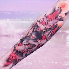 Интересные татуировки Brando Chiesa
